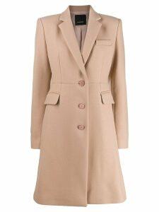 Pinko single breasted coat - Neutrals