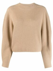 Chloé ribbed jumper - Brown