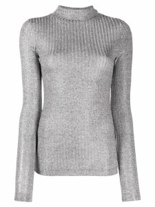 Dondup ribbed turtleneck jumper - Grey