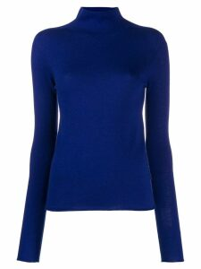 Joseph turtleneck knitted wool jumper - Blue