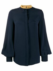Roksanda bell sleeve blouse - Blue