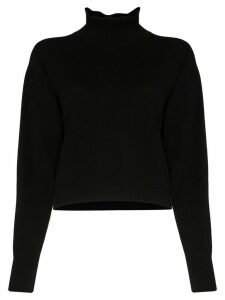 Le Kasha Vail turtleneck cashmere sweater - Black