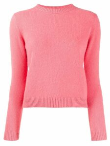 The Elder Statesman round neck jumper - PINK