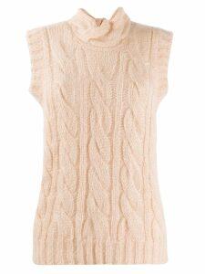 Prada cable knit vest - F0236 CIPRIA