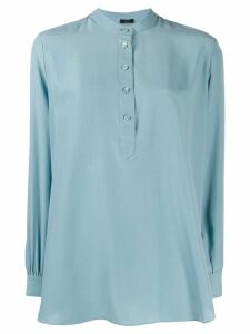 Joseph Luke long-sleeved blouse - Blue