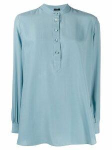 Joseph Luke long-sleeved blouse - Blue