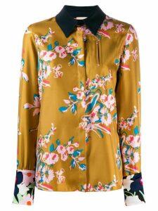 Roksanda floral print shirt - Yellow