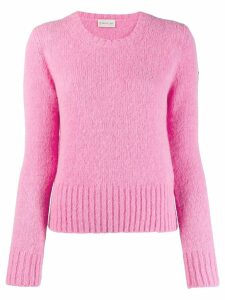 Moncler knitted jumper - PINK