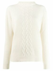 A.P.C. ribbed-knit jumper - White