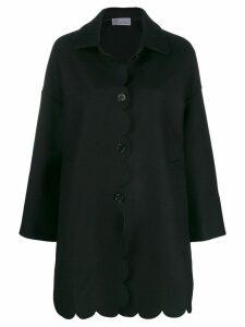 Red Valentino RED(V) oversized coat - Black