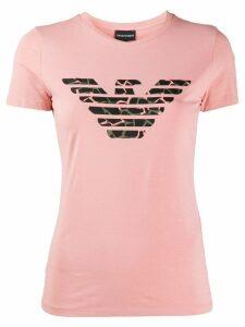 Emporio Armani Giraffa T-shirt - PINK