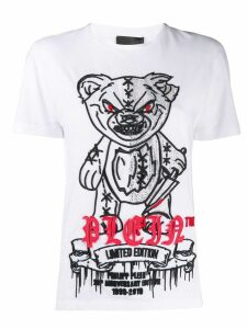 Philipp Plein Teddy Bear print T-shirt - White