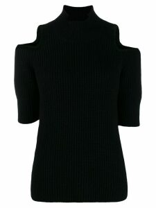 Zoe Jordan cut-out detail knit sweater - Black