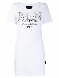 Philipp Plein embellished T-shirt - White
