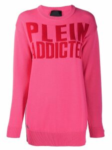 Philipp Plein Statement jumper - PINK