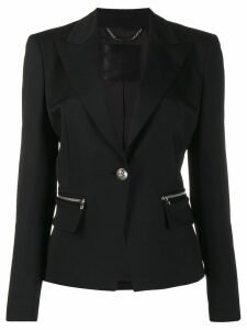 Philipp Plein crystal-embellished jacket - Black