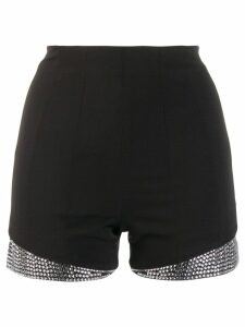 Philipp Plein crystal embellished shorts - Black