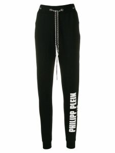 Philipp Plein chain track pants - Black