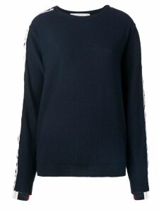 Stella McCartney logo tape jumper - Blue