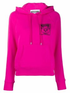 Moschino Embroidered Teddy Bear hoodie - Pink