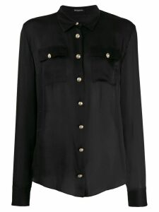 Balmain button-down tailored blouse - Black
