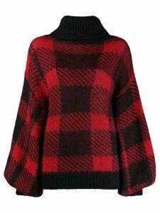 Emporio Armani roll neck jumper - Black