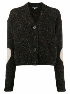 Alexa Chung elbow-patch cardigan - Brown