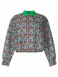 Kolor colour-block blouse - Multicolour