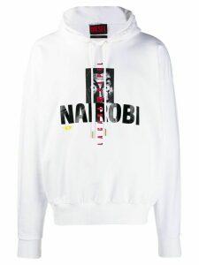 Diesel Nairobi hoodie - White