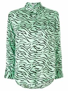 Olivia Rubin zebra print shirt - Green