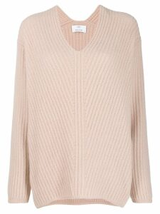 Allude relaxed jumper - Neutrals