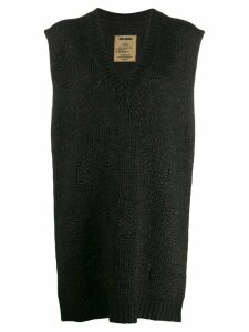Uma Wang oversized sleeveless sweater - Brown