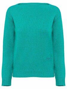 Prada Wool and Cashmere Sweater - Green