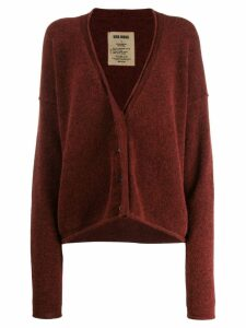Uma Wang loose-fit cardigan - Red