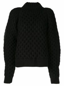 Partow chunky knit jumper - Black