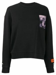 Heron Preston heron graphic sweatshirt - Grey