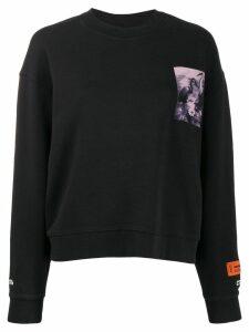 Heron Preston heron graphic sweatshirt - Grey