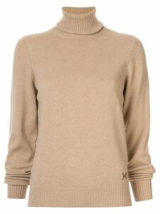 Barrie turtle neck jumper - Brown