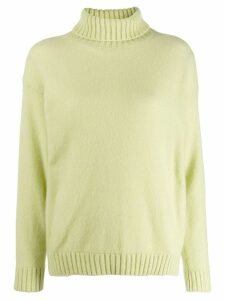 Laneus roll neck jumper - Green