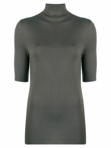 Thom Krom stand-up collar jumper - Grey