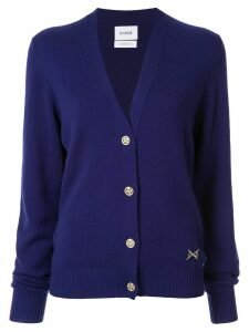Barrie V-neck cardigan - PURPLE