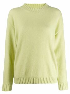 Laneus round neck jumper - Green