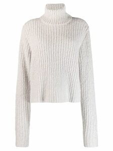 Simon Miller ribbed roll neck jumper - Grey
