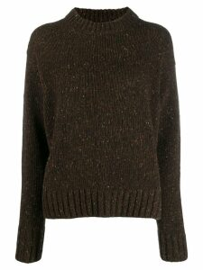 Joseph speckled knitted jumper - Brown