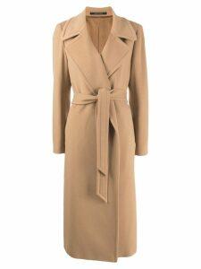 Tagliatore Molly trench-coat - Brown