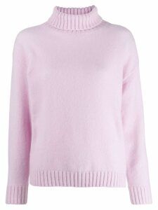 Laneus roll neck jumper - PINK
