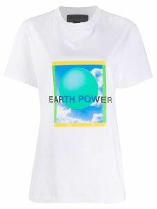 Stella McCartney earth T-shirt - White