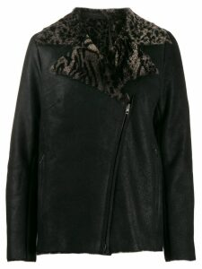 Salvatore Santoro shearling-lined jacket - Black