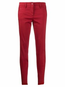 Luisa Cerano skinny trousers - Red