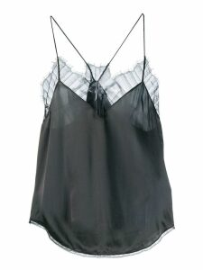 Iro lace-trimmed camisole - Grey